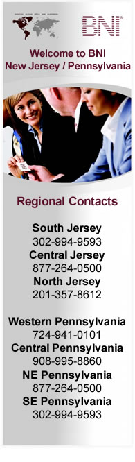 BNI New Jersey / Pennsylvannia